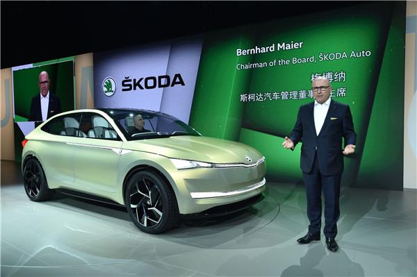 在本次媒体之夜上,大众汽车集团展示了旗下众多品牌的一系列全新车型