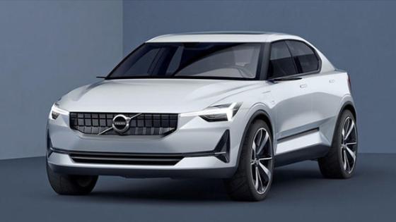 沃尔沃发布Polestar 2概念图 定位纯电动四门掀背车型