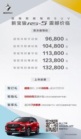 【区域上市新闻稿】新宝骏RS-5广州上市+全系网联售价9.68-13.28万元-20190420151.png