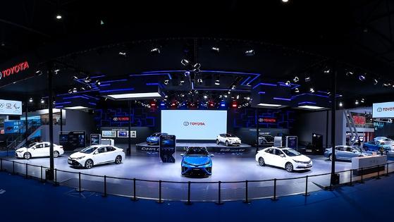 丰田携全方位环保车型亮相2019成都国际车展