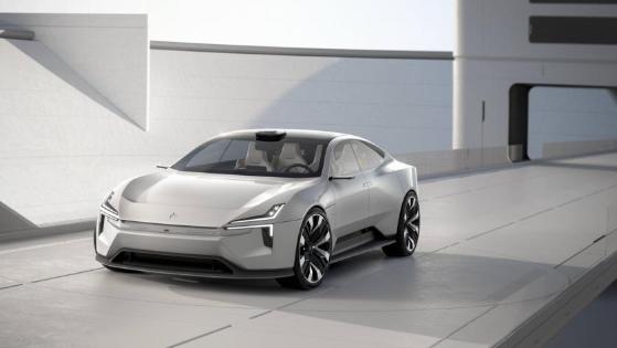 定位纯电动4门GT轿车 极星Precept全球首秀