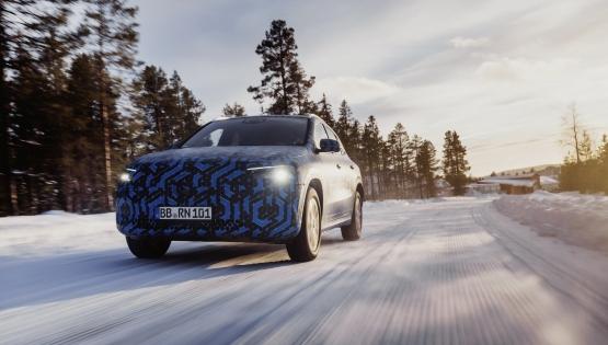 全新奔馳入門電動車EQA官方測試照發布 國産後預計35萬起售