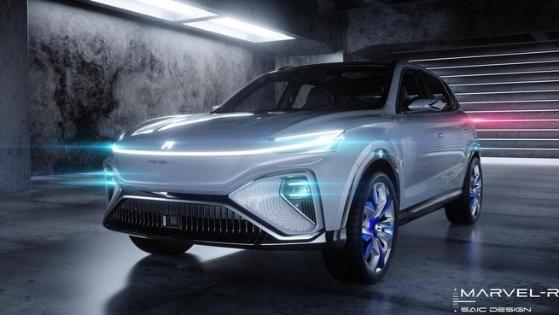 L3自动驾驶/5G技术双双量产 荣威MARVEL-R整车外观首曝