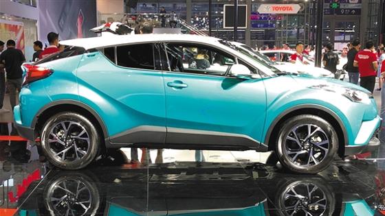 广汽丰田TNGA 首款SUV C-HR/高品质纯电SUV C-HR EV