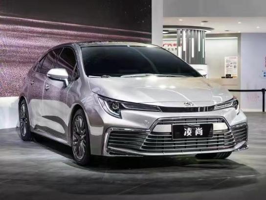 全新TNGA轿车凌尚首发,广汽丰田三款新车登陆广州车展