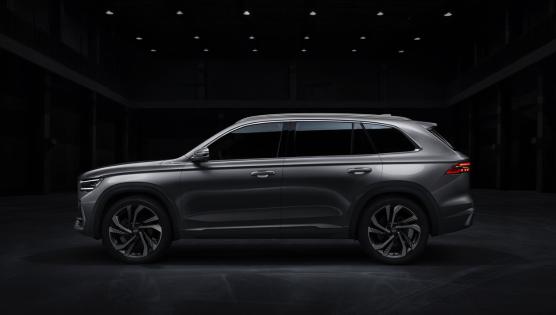 吉利全新SUV车型KX11官图曝光 基于CMA打造